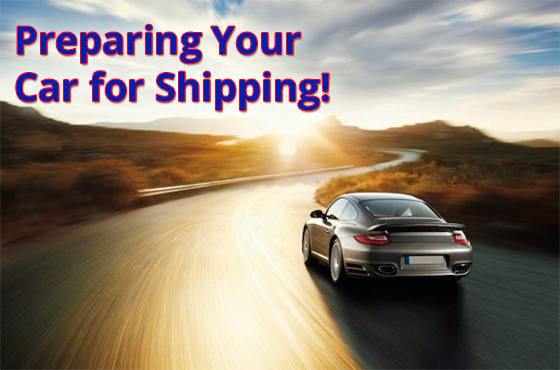 Preparing Your Car for Shipping